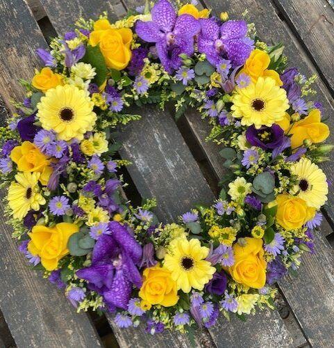 Begravelses blomster